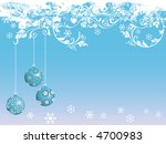 christmas background with... | Shutterstock .eps vector #4700983