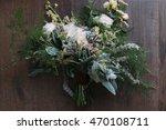 wedding. the bride's bouquet.... | Shutterstock . vector #470108711