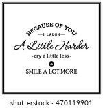 Friendship Quote. Typographical ...