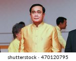 Small photo of PECHABURI THAILAND-JULY 8 2016: 29th Prime Minister of Thailand Prayut Chan-o-cha Presided over the opening ceremony of Bua Bart Yart Ta An exhibition in Honor of His Majesty the King