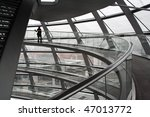 inside the reichstag building... | Shutterstock . vector #47013772