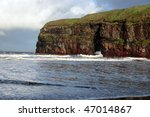 A View Of The Beach Cliffs In...
