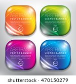 abstract vector banners set of... | Shutterstock .eps vector #470150279