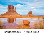 Sand Stone Monuments In Arizona