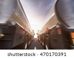 gasoline transporter speeding... | Shutterstock . vector #470170391