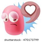 3d rendering sad character...   Shutterstock . vector #470173799