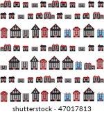 urban city. vector | Shutterstock .eps vector #47017813