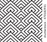 black and white geometric... | Shutterstock .eps vector #470182931