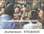 web page internet pointer... | Shutterstock . vector #470183435