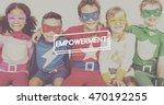 imagine innocence kids... | Shutterstock . vector #470192255