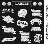 stickers  tags and banners with ... | Shutterstock .eps vector #470207021