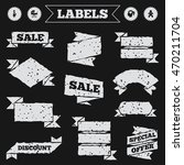 stickers  tags and banners with ... | Shutterstock .eps vector #470211704