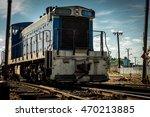 cuba old trains    Shutterstock . vector #470213885