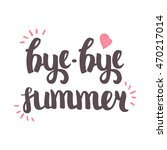 vector hand drawn lettering.... | Shutterstock .eps vector #470217014