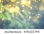 abstract christmas lights on... | Shutterstock . vector #470222795