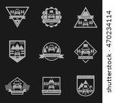 sets of off road car logo ... | Shutterstock .eps vector #470234114