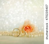 wedding rings | Shutterstock . vector #470235407