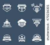 sets of sports car logo ... | Shutterstock .eps vector #470236301