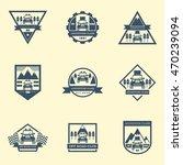 sets of off road car logo ... | Shutterstock .eps vector #470239094