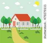 sweet home | Shutterstock .eps vector #470270111