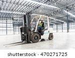 warehouse worker driver in...   Shutterstock . vector #470271725