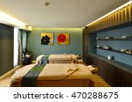 interior of spa room consisting ... | Shutterstock . vector #470288675