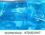 blue jelly on white background 2 | Shutterstock . vector #470301947