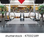 The Image Of Escalator In...