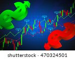 stock market graphs overall... | Shutterstock .eps vector #470324501