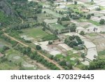 a village in a rural area of... | Shutterstock . vector #470329445