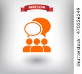 people talking  icon. one of...