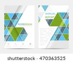 business flyer template ... | Shutterstock .eps vector #470363525