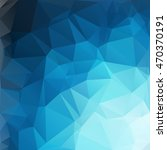 blue polygonal mosaic... | Shutterstock .eps vector #470370191