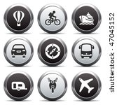 metal button with icon 20