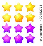 star icons set. collection icon ...