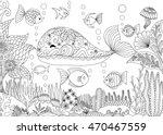 doodles design of a little... | Shutterstock .eps vector #470467559