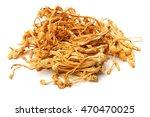 dried cordyceps militaris... | Shutterstock . vector #470470025