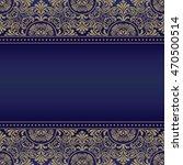 template frame design for... | Shutterstock .eps vector #470500514
