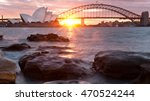 Sunset Over Sydney  Australia...