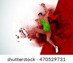 creative illustration of... | Shutterstock .eps vector #470529731
