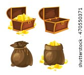 vector set of two bags and...