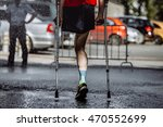 male athlete with a disability... | Shutterstock . vector #470552699