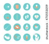 pregnancy and newborn baby...   Shutterstock .eps vector #470553059