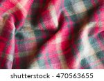 Scottish Woolen Plaid Of Tarta...