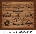 christmas decorations vector... | Shutterstock .eps vector #470569355