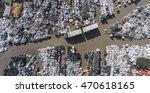 view landfill bird's eye view.... | Shutterstock . vector #470618165