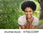 beautiful woman smiling | Shutterstock . vector #470622389
