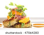 Gourmet Crab Cakes With...