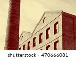 Old Factory Exterior With...