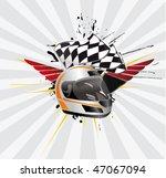 racing sign | Shutterstock .eps vector #47067094